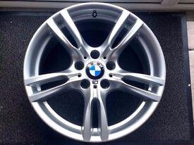 "18"" BMW F30 M SPORT STYLE 400 ALLOY WHEEL 8J FRONT"
