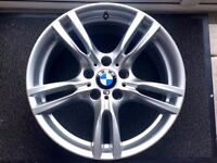 "18"" BMW F30 M SPORT STYLE 400 ALLOY WHEEL 8J FRONT"