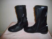 Biker Boots Ladies Frank Thomas Size 5