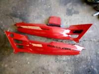 Honda cbr 600 f2 seat cowls