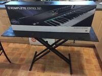 Native Instruments Komplete Kontrol S61 usb midi keyboard controller + support