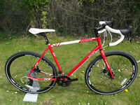 Brand New Raleigh Maverick Comp Reynolds 631 Steel Cyclocross Gravel Bike Located Bridgend Area