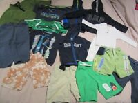 Bundle of Boys Clothes Sizes 18 months to 3 years