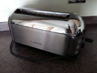 Kenwood 4 slice chrome toaster