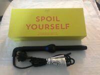 New clip-free curling wand 25 mm.