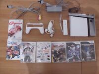 Wii Bundle, All Games PG or 3+ For Kids
