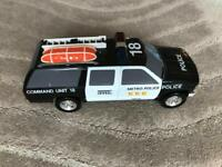 Large toy police car