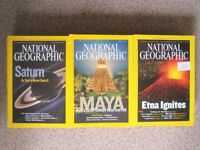 33 National Geographic Society magazines £10