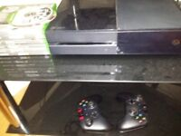 Xbox one 500gb 10 games perfect working order