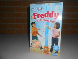 (216) Air Power Freddy and His Flying Fish - Battery Operated Game for children Aged 4+