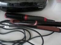 Straighteners & straightening brush new