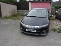 Honda Civic Type S 1.8CC 3 Door Hatch back in Black £2700.00