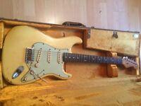 Fender Custom Shop '62 Stratocaster Heavy Relic Vintage White