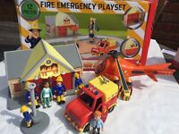 Fireman Sam emergency rescue playset