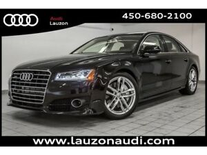 2017 Audi A8 4.0T HEAD UP DRIVER ASSIST PACK NIGHT VISION