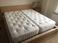 Pair of Single Relyon Ultimate Ortho Support Orthopaedic Pocket Sprung Mattress