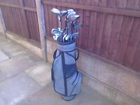 Good Clubs x 26 mixed with free storage bag Reduced for Quick sale