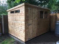 10ft x 8ft shed , heavy duty, Any size or style made to order.