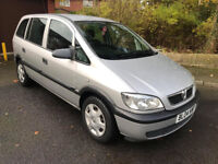 VAUXHALL ZAFIRA 2.0 DIESEL, AUTOMATIC 7 SEATER