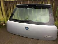 Fiat punto grande 56 plate boot lid with spoiler