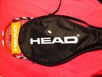 brand new head tri radical tennis racket with case