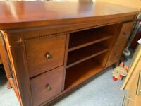 Walnut tv cabinet