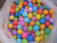 Soft Play / Ball Pit Multicoloured Balls - Giant bag