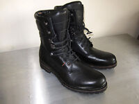 Hugo Boss mens leather boots size 10 as new