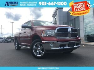 2014 Ram 1500 BIG HORN - HITCH RAILS, BOX LINER
