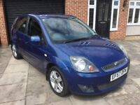 FORD FIESTA 1.4 ZETEC LOW MILAGE SERVICE HISTORY
