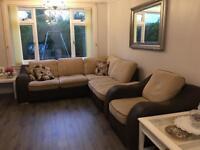 Corner sofa & arm chair