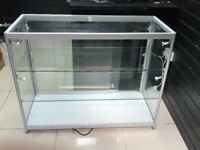 Glass counter for Retail Shop with Lights
