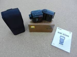Nikon SB600 Speedlight Flash, AS NEW CONDITION, BOXED. Surry Hills Inner Sydney Preview
