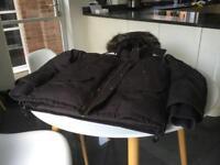 Levis padded parka coat size large