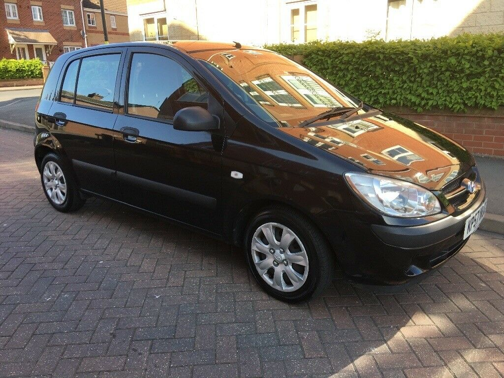 2007 Hyundai Getz 1.1 Manual, 1 Former Keeper. HPI Clear, Drives Excellently