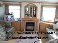 3bedroom caravan thornwick bay flambrough Bridlington to rent