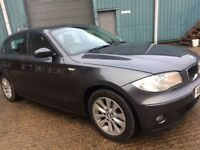 2006 BMW 1 SERIES 116I SE 1.6LIT 5DR WITH 63K IN EXCELLENT CONDITION
