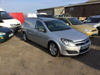 2006 Vauxhall Astra 1900 cc sportive in silver lovely driver diesel van any trial welcome px consid