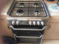 Indesit ID60G2X Free-standing Gas Cooker - EXCELLENT CONDITION