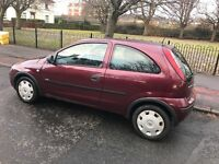 2005 vauxhall corsa 1.0 1 years mot very low mileage