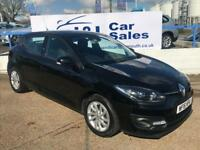 RENAULT MEGANE 1.5 DYNAMIQUE NAV DCI 5d 110 BHP A GREAT EXAMPLE INSIDE AND OUT (black) 2016