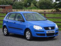 2009 VW POLO 1.2 E 5 DOOR **LOW MILES & LONG MOT**