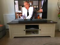 Nearly new coffee table, tv stand and large sideboard