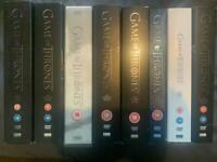 Game of Thrones DVD's All Seasons 1 - 8
