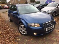 AUDI A3 2.0 TFSI TURBO AUTOMATIC 2005 13 STAMPS VERY CLEAN FULL HISTORY DRIVES WELL