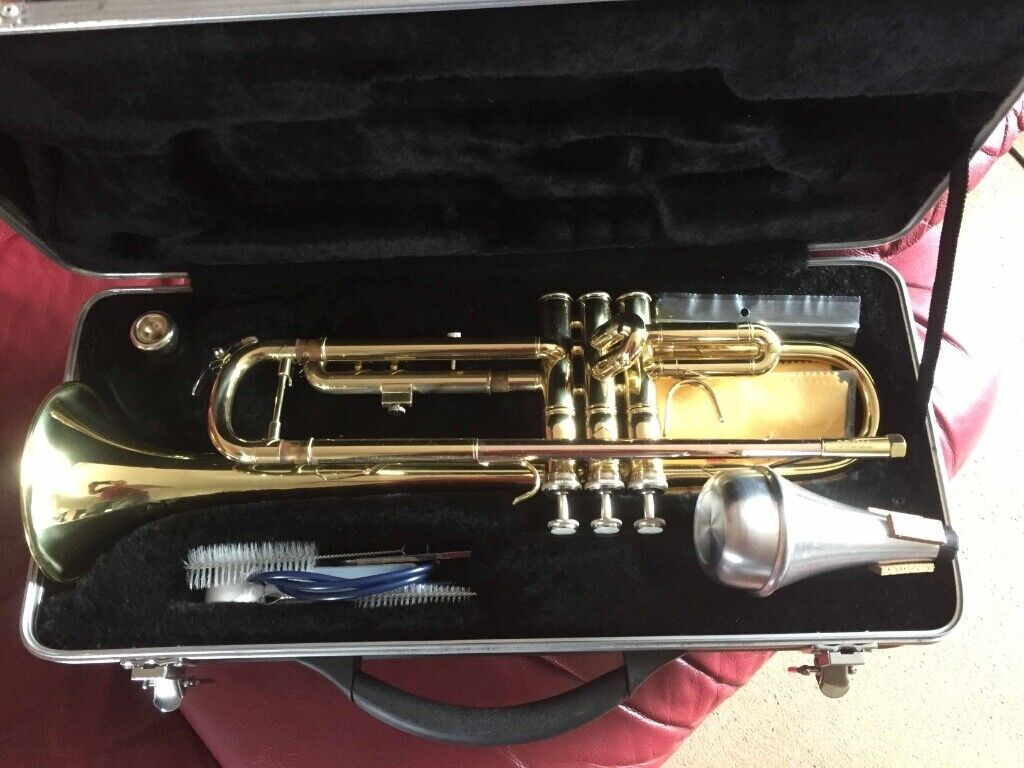 Trumpet Prelude TR700 + Hard Case + Practice Mute + Cleaning Kit  £70 OVNO    in Chapelhall, North Lanarkshire   Gumtree