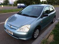 Honda Civic 1.4 petrol long mot