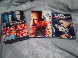 Prison break season 1-4