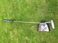 Odyssey White Ice 7 Putter New Grip & Headcover