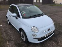 Fiat 500 Lounge 1.2L (Baby Blue) BRAND NEW Clutch and Suspension !!!